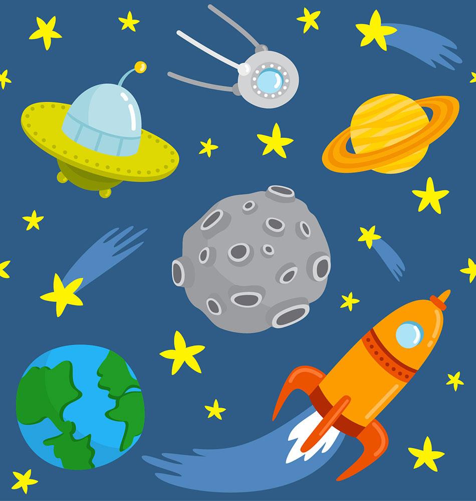 Картинки планеты и звезды для детей
